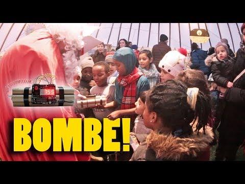 Nikolaus verteilt Bombe! – Nikolaus Prank – Wiener Schmäh