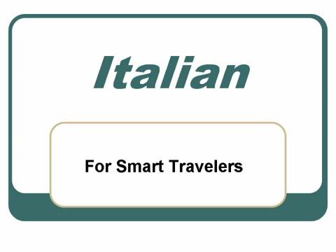 Learn Basic Italian Words