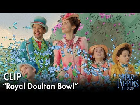 """Royal Doulton Bowl"" Clip | Mary Poppins Returns"