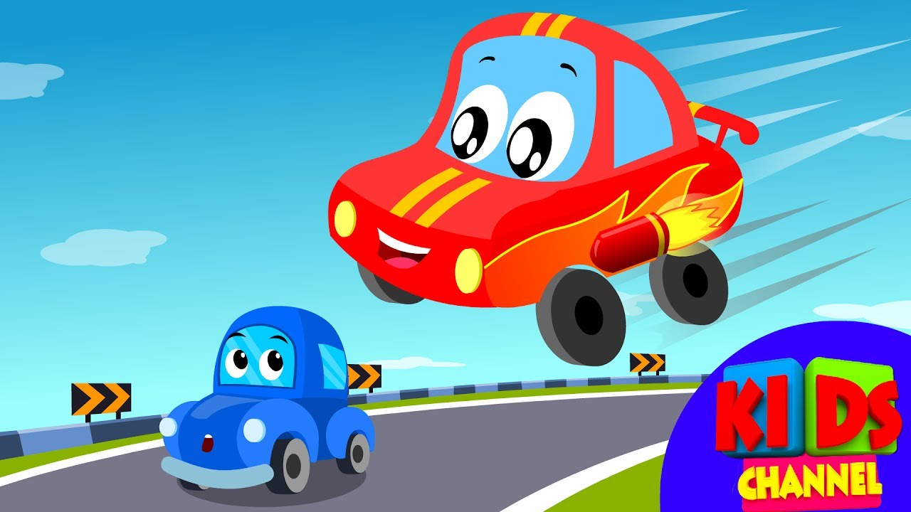 Little Red Car Rhymes 