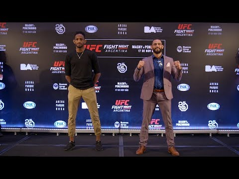 Fight Night Argentina: Media Day Faceoffs
