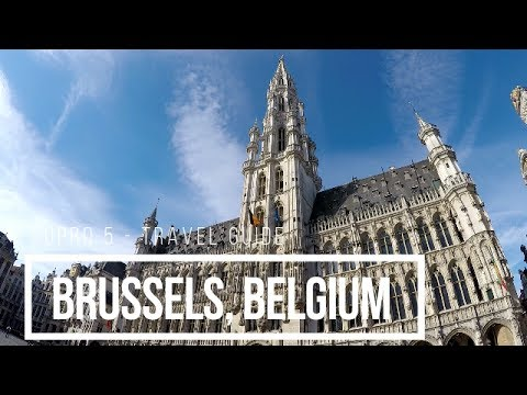 1 day in Brussels, Belgium - TRAVEL GUIDE GOPRO 5 _ 2017