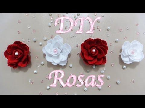 Rosas como hacer flores flores de tela papel facil - Www como hacer flores com ...