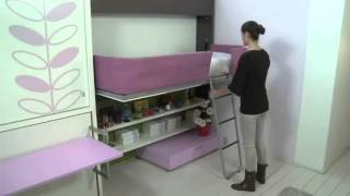 Lollibook - Single bed with storage space underneath