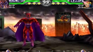 X-men Mutant Academy 2 Magneto Arcade