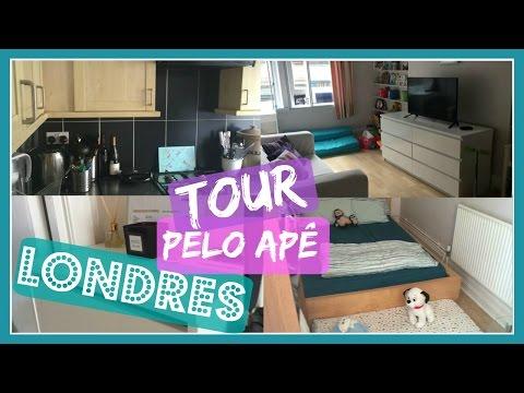 Tour Apartamento em Londres!