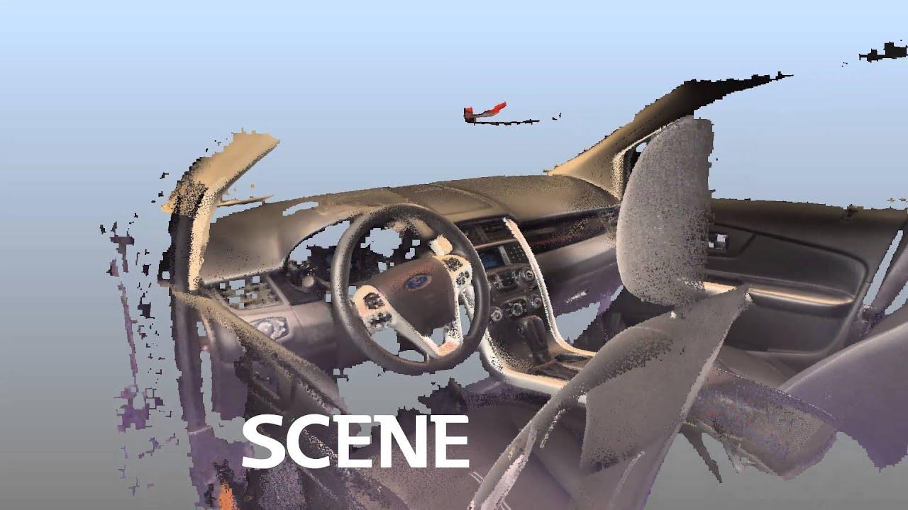 Good A Quick 2 Minute 3D Laser Scan Of A Car Interior