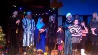 Детское рождественское служение - 2013