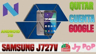 QUITAR CUENTA SAMSUNG J727V - FRP - BYPASS / COMBINATION
