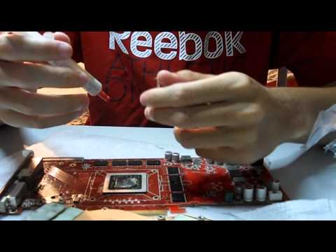 Cleaning ATI Radeon HD4850