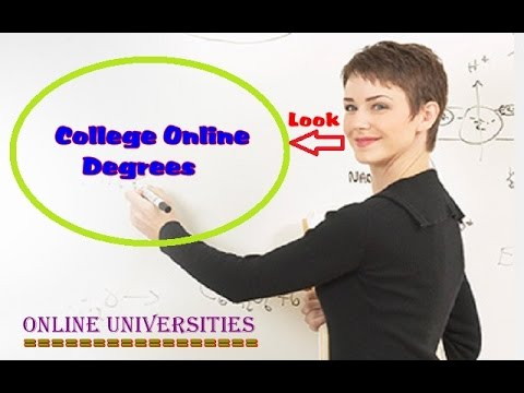 College Online Degrees