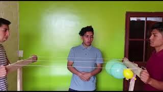 22  Aplicación de la tercera ley de Newton
