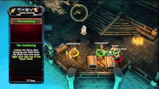 Dungeon Hunter Alliance (1) Playthough Warrior Class Online Multiplayer
