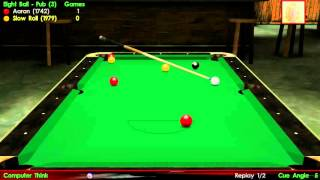 """Virtual Pool 3: [Best of 3] - [UK 8 Ball] - with """"Slow Roll"""""""