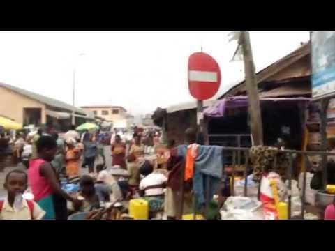 On the streets of Koforidua, Ghana (Africa)