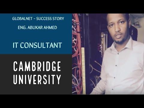 GlobalNet - Abukar's Success Story (IT Consultant)