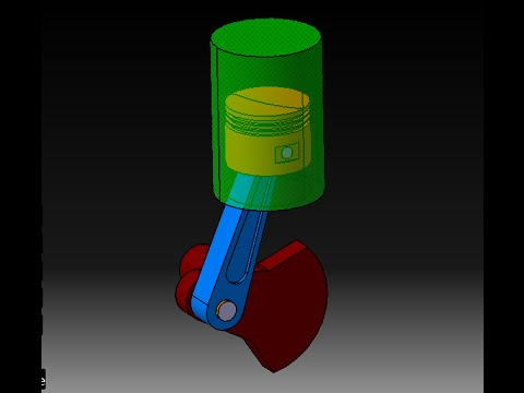How to make simulation piston cylinder ? ( TUTORIAL )