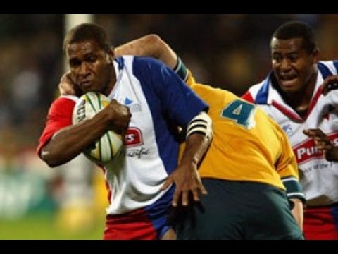 Rugby: Pacific Islanders v Australia 2004