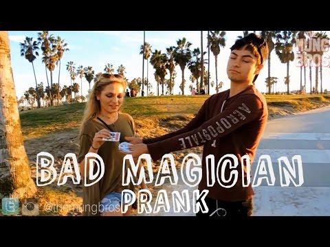 HOT GIRLS Magic Trick GONE WRONG!!