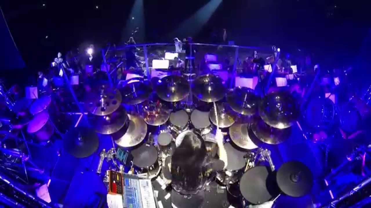 Uriah Heep - Easy Livin' - Randy Black drumcam Rock Meets Classic 2014