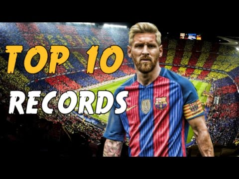 LIONEL MESSI : 10 RECORDS INCROYABLES