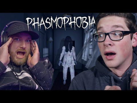 GHOST HUNTING… gone wrong!! – Phasmophobia