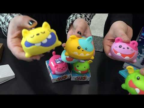 TOY FAIR 2018: Marvelous Musical Toys!! Silly Squeaks, KARAOKE, Drums & Guitars