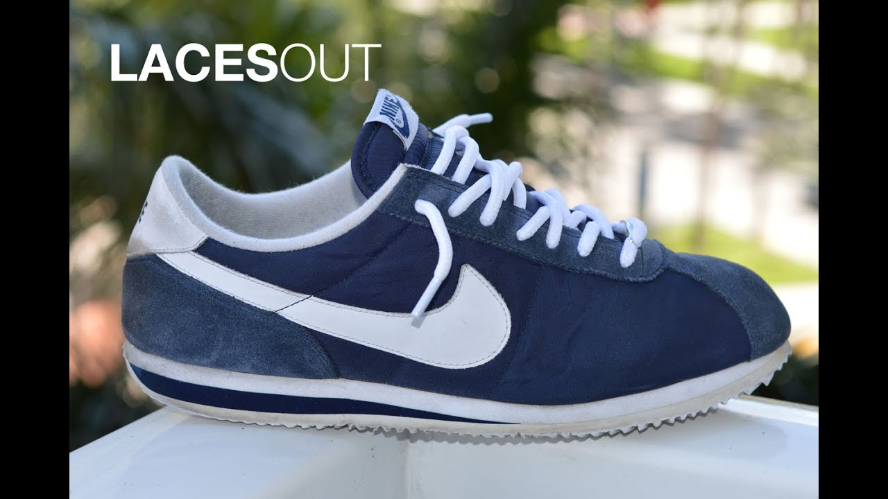Cortez Lace Nike Sizing Ideas Youtube Shoelaces Color Swap qHIC4dw