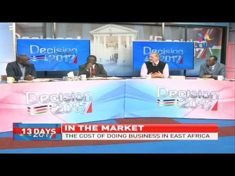 Analysis on the cost of doing business in Kenya and East Africa