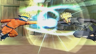 Naruto Ultimate Ninja 3 Jutsu Clashes Compilation