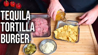 Tequila Tortilla Burger recipe by the BBQ Pit Boys