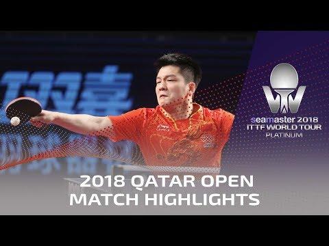 2018 Qatar Open Highlights I Fan Zhendong vs Xu Xin (1/2)