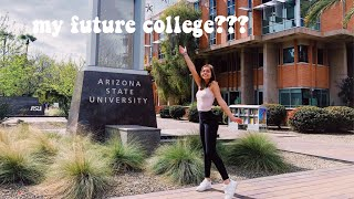 going on COLLEGE visits in ARIZONA