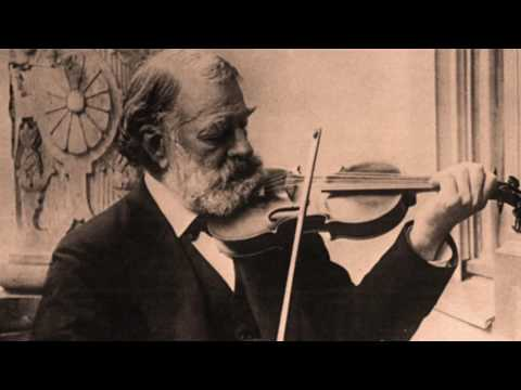 Joseph Joachim, Romance C major, Reenactment of the composer's recording 1903