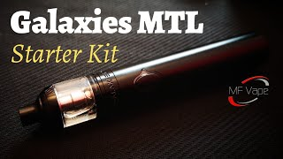 Vapefly Galaxies MTL Starter Kit | #Stoptober | Cheap but Good | Recommended