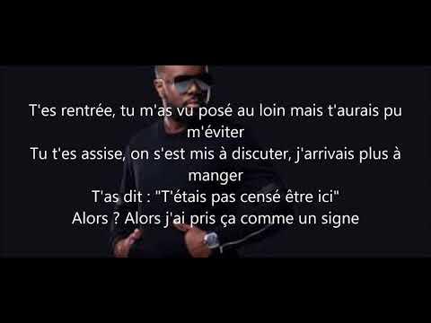 Maitre Gims PS (lyrics) ceinture noir