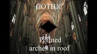 Romanesque vs Gothic Architecture