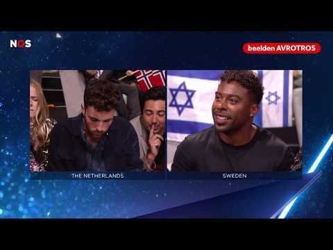 SONGFESTIVAL: Het moment waarop Duncan Laurence wint