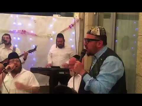 Lipa Schmeltzer Sukkahs In Israel Singing A New Song With Zavi Freid and Dovi Meisels