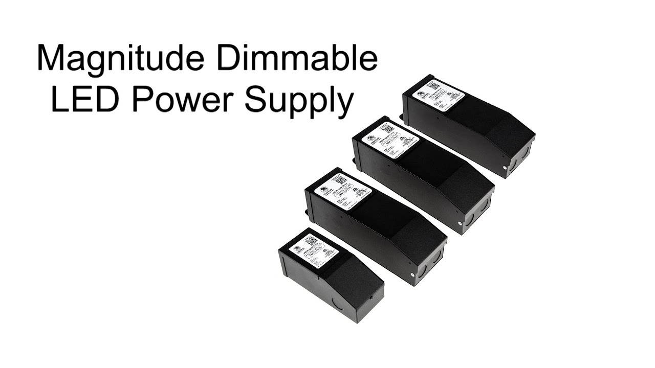 how to wire magnitude dimmable led power supply youtube rh youtube com