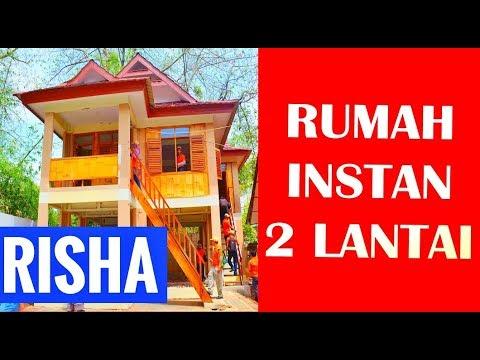 Disain Rumah Instan Murah 2 Lantai  Membangun Rumah