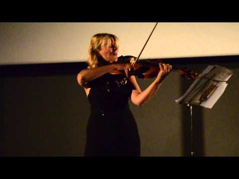 Thierry Huillet Balade for solo viola by Clara Cernat live