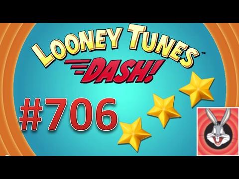 Looney Tunes Dash! level 706 - 3 stars - looney card