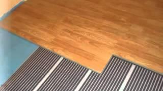 видео Теплый пол под... Выбираем напольные покрытия для теплого пола.