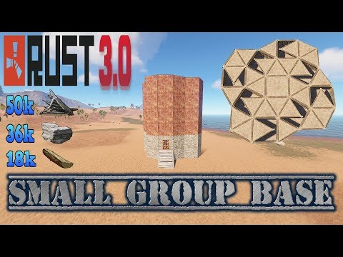 Rust 3.0 Base Build [Small Cheap Group Base 3-4 Players]