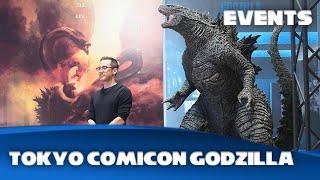 Godzilla: King Of Monsters - Michael Dougherty SH Monsterarts Kaiju Reveal At Tokyo Comicon