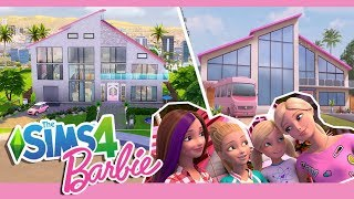 The Sims 4 สร างบ านบาร บ Barbie Dreamhouse Adventures No CC Speed Build
