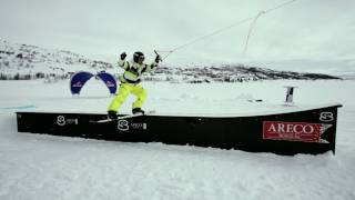 Snow kite cable session  - Red Bull Ragnarok