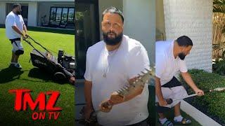 DJ Khaled Takes a Break From His Music   TMZ TV