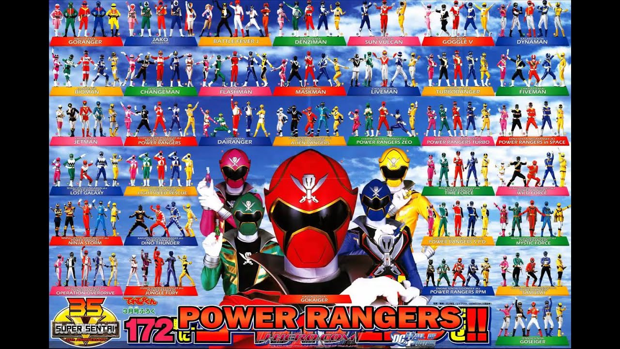 power rangers mighty morphin to mega theme songs mix